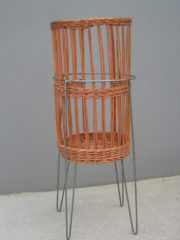 basket stand silver finish_20-1